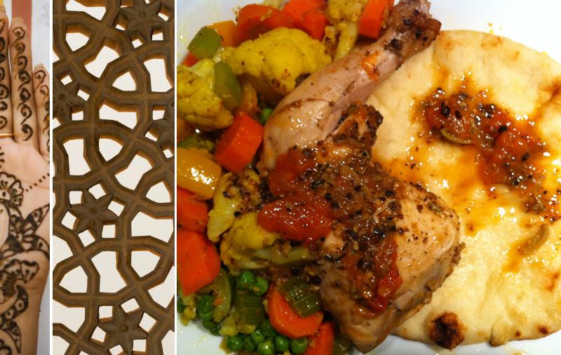 poulet et légumes à l'indienne © CuisineEtc