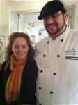 Marie Josée Turgeon deuxième place et le chef Nabil El Khayal de la Guilde culinaire, crédit photo CuisineEtc