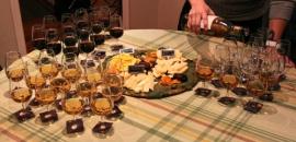 Dégustation de Pineau des Charentes accompagnés de fromages de la Laiterie Chalifoux